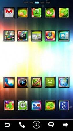 Ultimate ICS GO Launcher Theme